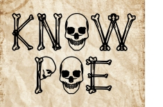 Know Poe Skulls border